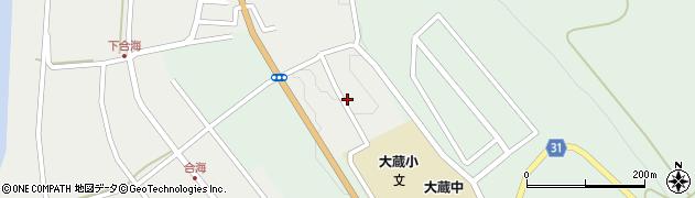 山形県最上郡大蔵村合海1442周辺の地図