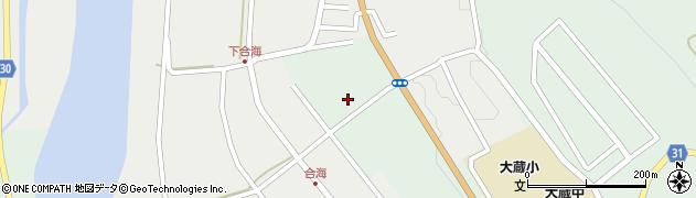 山形県最上郡大蔵村清水2858周辺の地図