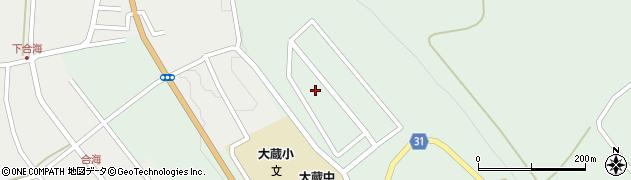 山形県最上郡大蔵村清水3427-44周辺の地図