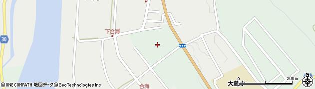 山形県最上郡大蔵村清水2868周辺の地図