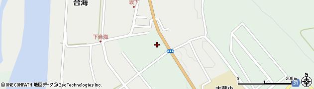 山形県最上郡大蔵村清水2876周辺の地図