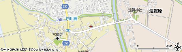 山形県鶴岡市外内島(明神川原)周辺の地図