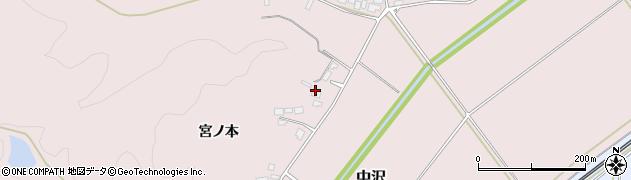 山形県鶴岡市中沢周辺の地図