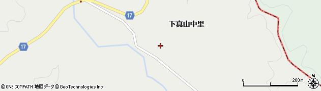 宮城県大崎市岩出山(下真山中里)周辺の地図