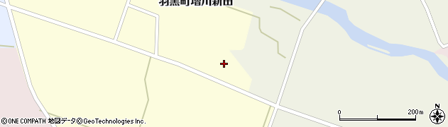 山形県鶴岡市羽黒町増川新田(水上)周辺の地図