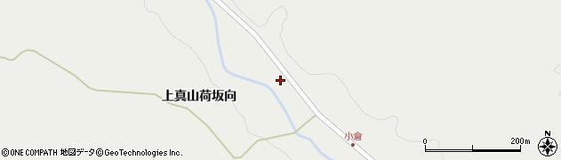 宮城県大崎市岩出山(上真山荷坂下)周辺の地図