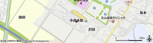 山形県鶴岡市日枝(小真木原)周辺の地図