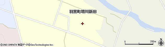 山形県鶴岡市羽黒町増川新田(林添)周辺の地図