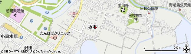 山形県鶴岡市日枝(坂本)周辺の地図