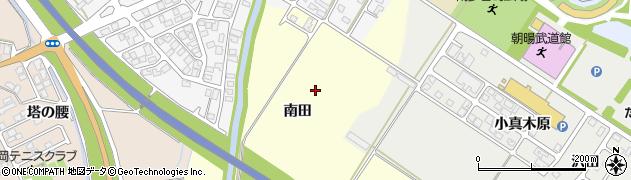 山形県鶴岡市番田(南田)周辺の地図
