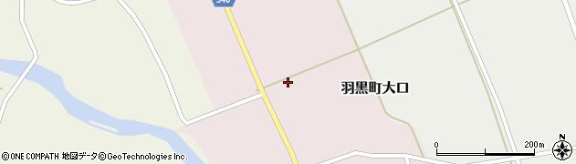 山形県鶴岡市羽黒町大口(木戸口)周辺の地図