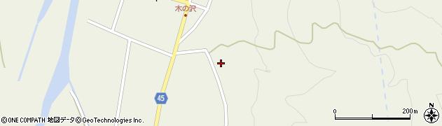 山形県東田川郡庄内町肝煎福地山本12周辺の地図