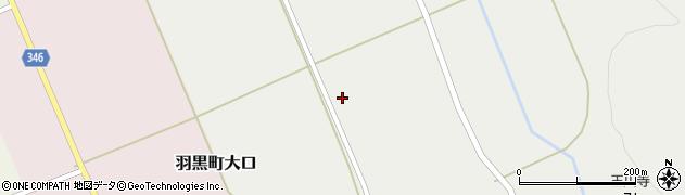 山形県鶴岡市羽黒町玉川中国見周辺の地図