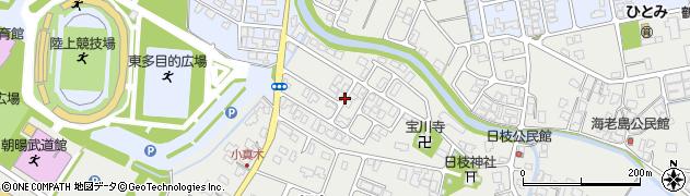 山形県鶴岡市日枝(宮ノ下)周辺の地図