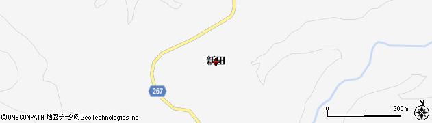 宮城県大崎市鳴子温泉(新田)周辺の地図
