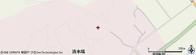 山形県鶴岡市中沢(森ノ腰)周辺の地図