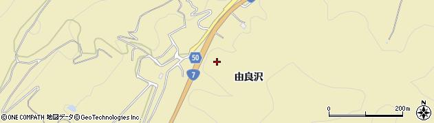 山形県鶴岡市由良(由良沢)周辺の地図