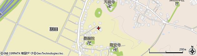 山形県鶴岡市中清水(桃木沢)周辺の地図