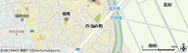 山形県鶴岡市のぞみ町周辺の地図