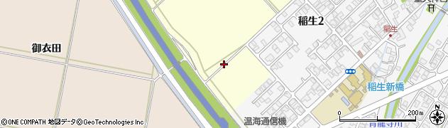 山形県鶴岡市番田周辺の地図
