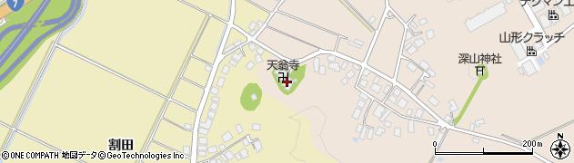 天翁寺周辺の地図