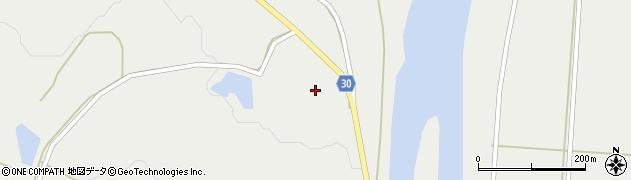 山形県最上郡大蔵村合海1326周辺の地図