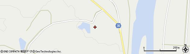 山形県最上郡大蔵村合海1306周辺の地図