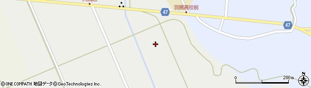 山形県鶴岡市羽黒町玉川(北林)周辺の地図