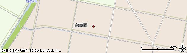 山形県鶴岡市井岡(奈良岡)周辺の地図
