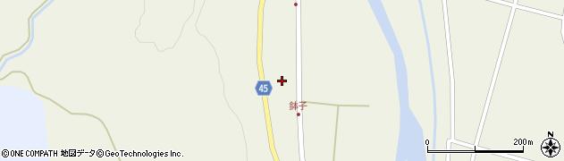 山形県東田川郡庄内町肝煎中田11-2周辺の地図