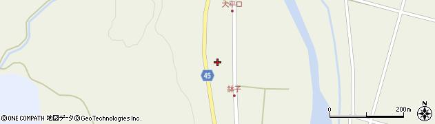 山形県東田川郡庄内町肝煎中田10周辺の地図