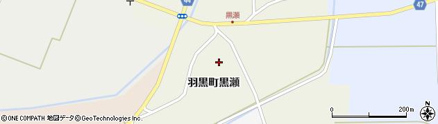 山形県鶴岡市羽黒町黒瀬(黒瀬)周辺の地図