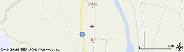 山形県東田川郡庄内町肝煎中田22周辺の地図