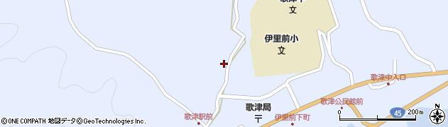 宮城県本吉郡南三陸町周辺の地図