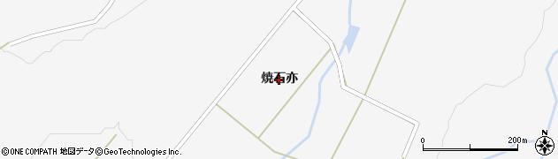 宮城県大崎市鳴子温泉(焼石亦)周辺の地図