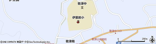 南三陸町立伊里前小学校周辺の地図