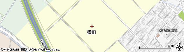 山形県鶴岡市番田(地ノ内)周辺の地図