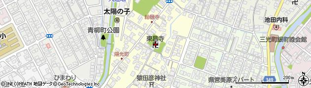 東昌寺周辺の地図