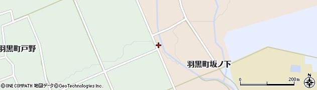 山形県鶴岡市羽黒町坂ノ下(田中)周辺の地図