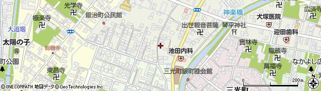 地蔵尊周辺の地図