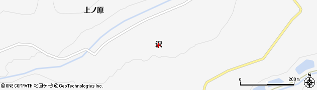宮城県大崎市鳴子温泉(沢)周辺の地図