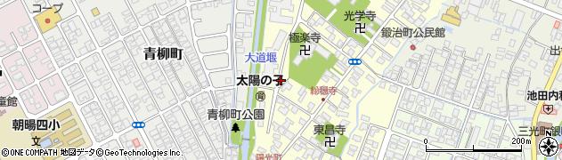 山形県鶴岡市陽光町周辺の地図