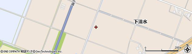山形県鶴岡市下清水(岩崎)周辺の地図