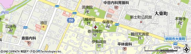 太春院周辺の地図