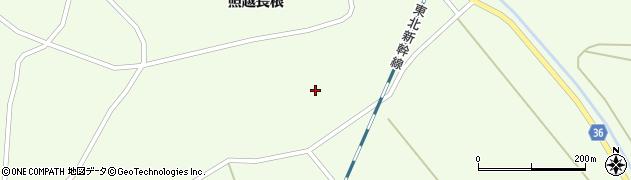 宮城県栗原市築館照越新田121周辺の地図