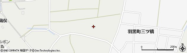 山形県鶴岡市羽黒町赤川(熊坂)周辺の地図