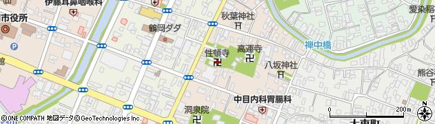 性頓寺周辺の地図