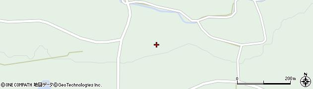宮城県栗原市一迫柳目大館周辺の地図