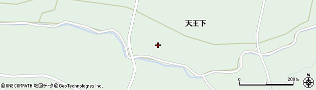 宮城県栗原市一迫柳目谷地田周辺の地図