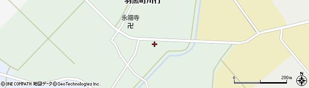 山形県鶴岡市羽黒町川行(経塚)周辺の地図